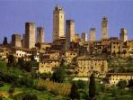 San Gimignano just 55 km