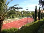 On site tennis court - free for the use of all guests