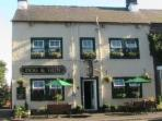 Friendly village pub serving good food and take-aways, a 3 minute stroll from East Byre
