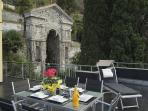 Large terrace perfect for alfesco dining!
