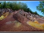 il territorio : i siti ex minerari della valle del Merse