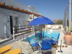 Sofia  patio & Pool area