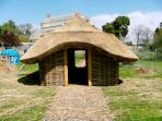 Viking house,Botanic Gardens(replica)