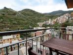 Apartment Rosa di Mare - Balcony with historic centre view