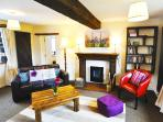 With a romantic cottage feel, its warm and inviting with plenty of character