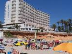 Our local beach La Zenia, which is only 10 minutes away and is fantastic for the kids