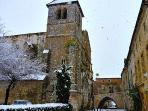 Winter in Monpazier means black truffles and Christmas markets
