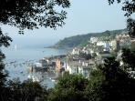 The vibrant town of Fowey is just over the Bodinnick ferry.