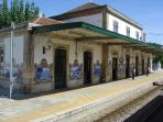 Douro - Pinhao train station