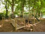 Adventure Playground in The Abbey grounds perfect for children