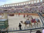 Parade in Colosseum, Puy du Fou