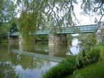 Eiffel Bridge, River Lay
