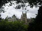 Bath Abbey from Parade Gardens, a short walk from the Apartment
