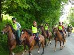 Man V Horse, 'The Horses Start'