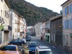 Axat High Street