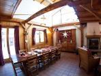 Chalet le Reposoir Dinning room