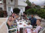 BBQ with friends and family