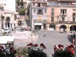 balcone su piazza Duomo