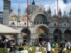 Enjoy the splendour in St Marks Square