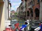 Spend time exploring Treviso's quaint alleyways
