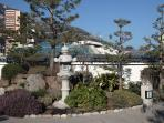 The wonderful Monaco Japanese Gardens-close by-why not take in on the way to Larvotto beaches?