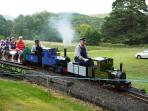 Minature train at the House of Ross, Comrie