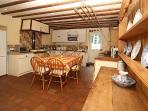 A warm and welcoming kitchen