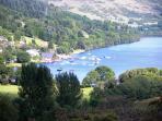 Lochearnhead from Glen Ogle