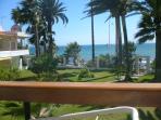 Torecilla beach 2 minutes walk