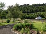 Cliff View front Garden