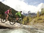 There are some great mountain biking routes at Sainte Foy