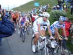 The Tour de France often passes nearby