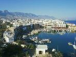 Kyrenia's Venetian horseshoe harbour