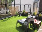Charming private roof terrace for sunny breakfasts