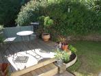 Garden with decking