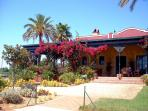 The Isla Canela Golf clubhouse