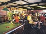 Entertainment throughout the day and night t California Cliffs Holiday Park