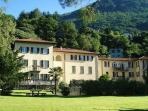 Villa Isella exclusive private grounds/garden