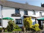 The Bridford Inn - just a one minute walk from the cottage