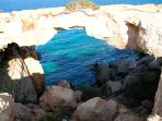 Natural bridge, Cape Greko