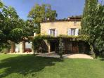 Front view of Villa le Cas