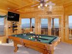 TENNESSEE TREASURE #232- Pool Table & Flat Screen TV