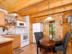 Spending time together is easy in this 1 bedroom cabin between P
