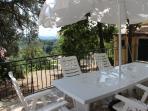 Garden table (in an elevated veranda)