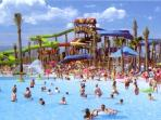 Costa Caribe water park at Port Aventura - a great day out.