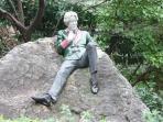 Oscar Wilde on Merrion Square