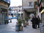 Main Square, day & night markets, wine tasting, truffle fairs, game fairs....