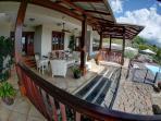 Main house - Large and spacious veranda