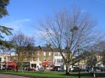 The Green, Winchmore Hill - great shops, cafes, restaurants and pub