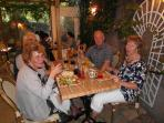 Dining on Terrace at Le Provence